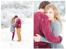 Matt & Madison, winter engagement session, Durango, Colorado, Portrait, photography, Brooke Henderson Photography